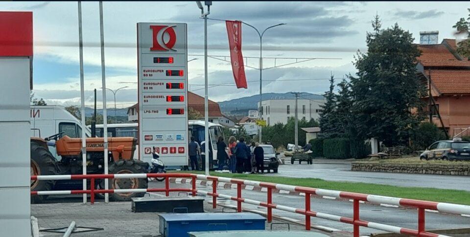 Поради сообраќајка блокиран регионалниот пат А3 на влезот кај Делчево (ФОТО)