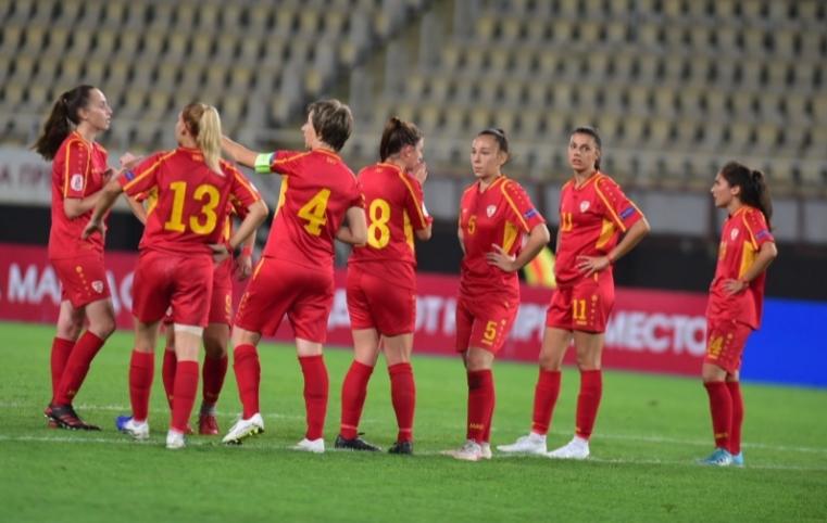 Втор пораз за македонските фудбалерки во квалификациите за СП