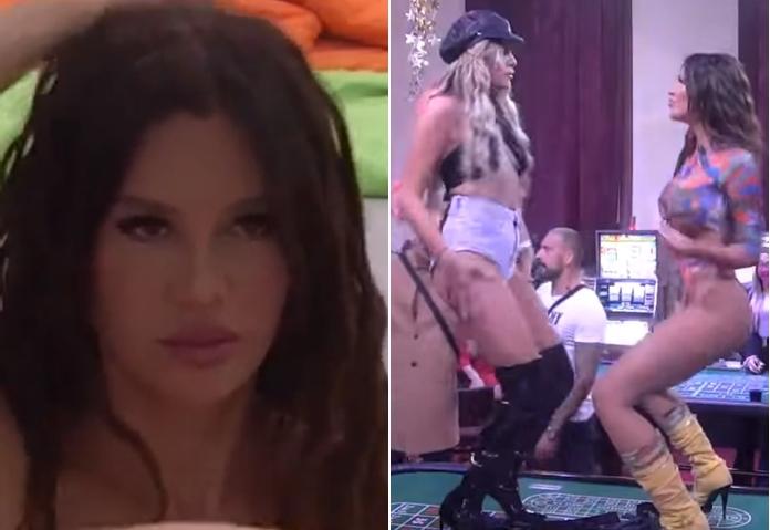 """Станија и во """"Задруга 5"""" потврди дека е убавица со најубава задница: Танга шминкање и """"жежок танц"""" на двете секси старлети на масата за рулет (ВИДЕО)"""