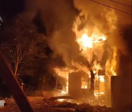 МВР со детали за вчерашниот пожар во центарот на Скопје
