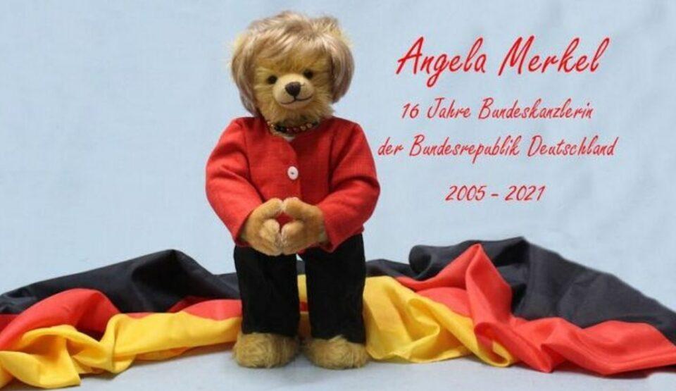 Фабрика за играчки направи мече посветено на Ангела Меркел (ФОТО)