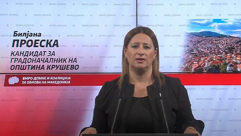 Проеска: Крушево ќе обезбеди социјални домови за најгорливите случаеви, а социјалната тематика и проблематика ќе бидат тековно решавани