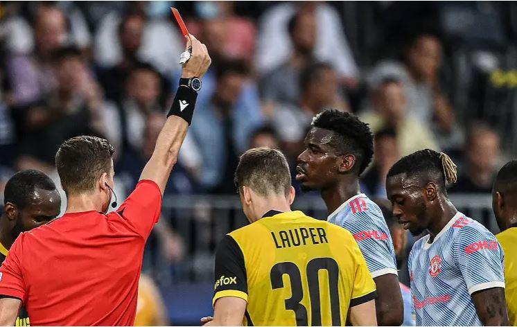 Заслужен црвен картон за Ван Бисака