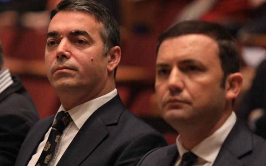 ВМРО-ДПМНЕ: Поради огромниот дипломатски скандал треба оставка на двоецот Димитров – Османи