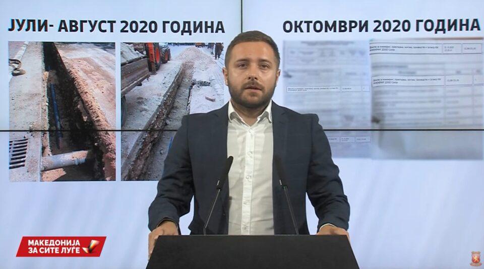 Арсовски: Три нови докази дека тендерот во ЈП Водовод бил наместен