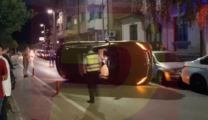 ФОТО: Ќерката на познат бизнисмен се преврте со својот џип во центарот на Охрид