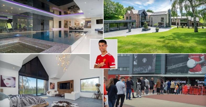 ФОТО: Погледнете во каков луксуз Роналдо ќе ги помине петте карантински дена во Манчестер