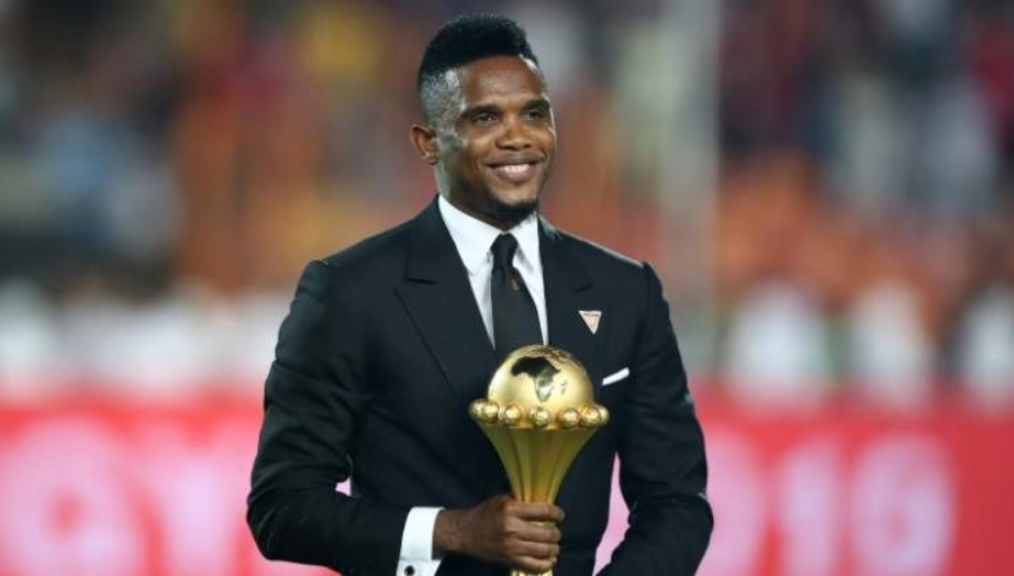Етосекандидираше за прв човек на камерунскиот фудбал