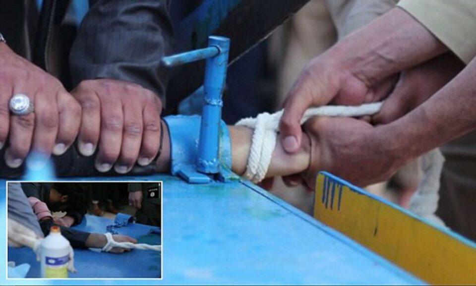 Казните со отсекување раце и јавните посрамувања повторно се воведуваат во Авганистан