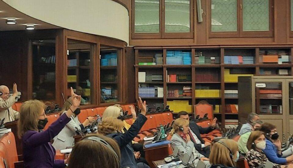 ВМРО-ДПМНЕ: Власта се плаши од вистината, пратениците од СДСМ и ДУИ го одбија предлогот на ВМРО-ДПМНЕ да се расправа за градбата и начинот на употреба на модуларните болници