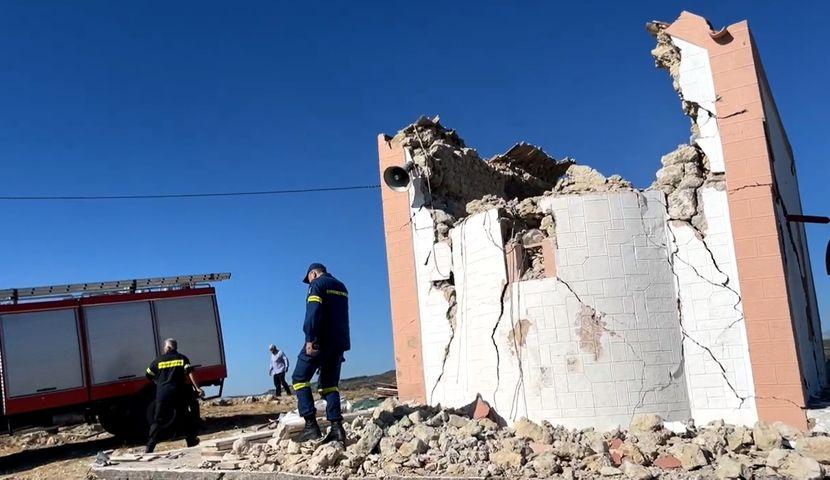 Еден загинат, неколкумина повредени во силниот земјотрес на Крит