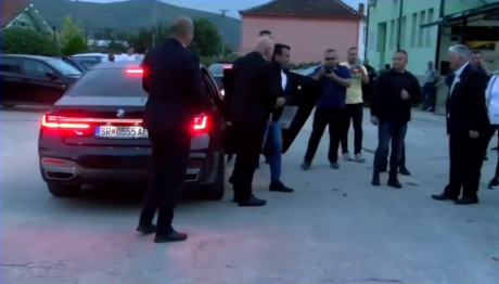 ФОТО: Новото БМВ на премиерот Заев