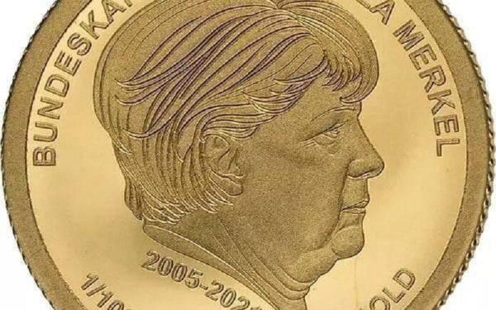 Издадени златници со ликот на Ангела Меркел