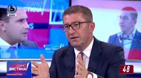 Мицкоски: Пописот има многу проблеми, и СДСМ и Левица се исто лице и опачина кои работат во корист на одржување на власта