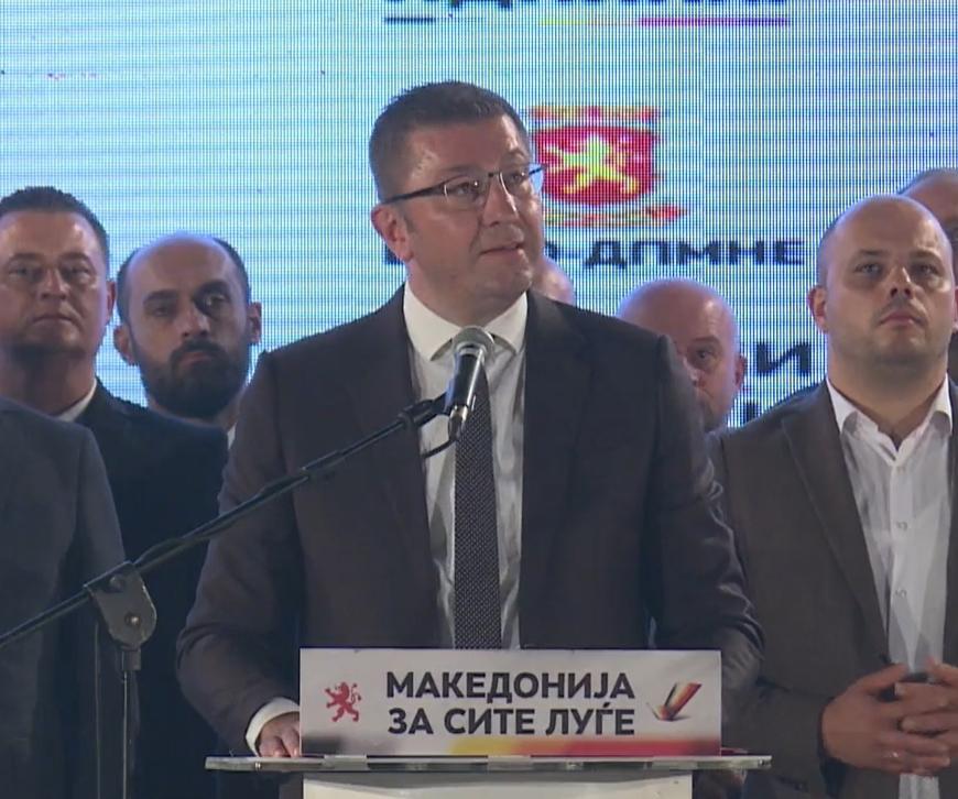 ВИДЕО: Мицкоски кажува виц во Охрид за Заев