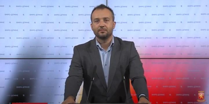 Лефков: Власта на Заев дозволи криминалците наместо во затвор, да бидат на слобода и да хараат низ Македонија