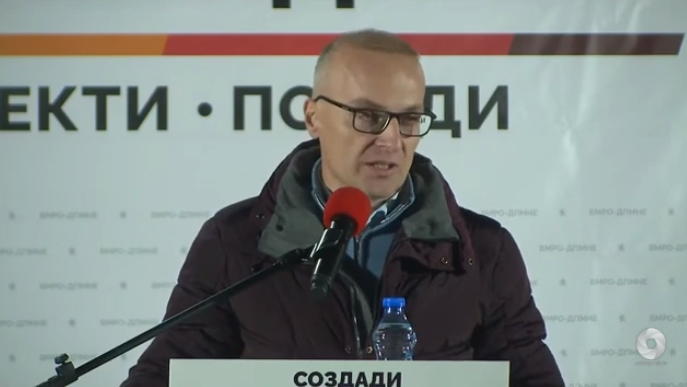 Милошоски од Долнени: Глигороски ќе биде идниот градоначалник, СДСМ и ДУИ заминуваат во историјата тие направија најмногу штета досега