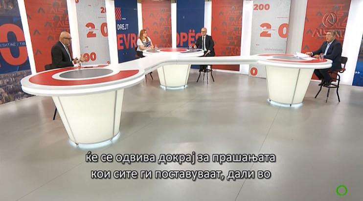 Милошоски: Не може премиерот да биде морален суд и да одлучува за оставките на Филипче и Хасани