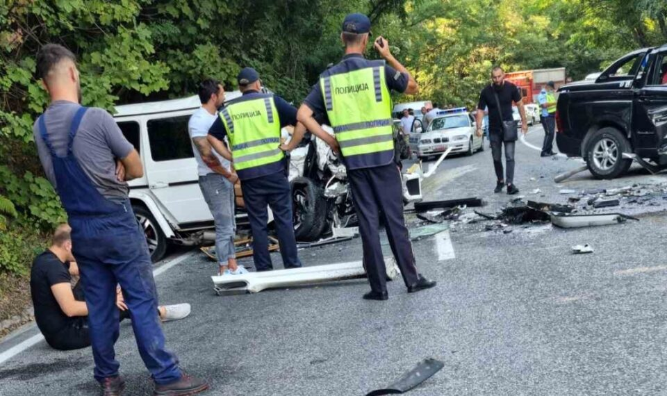 Еден загинат во тешка сообраќајка кај Стража во која учествувал и Зоран Милевски – кичевскиот? (ФОТО)