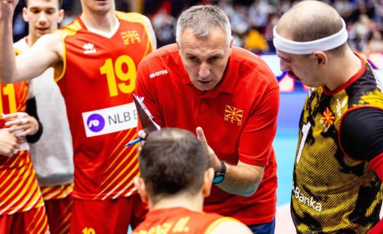 Втор пораз за македонските одбојкари на Европското првенство 2021