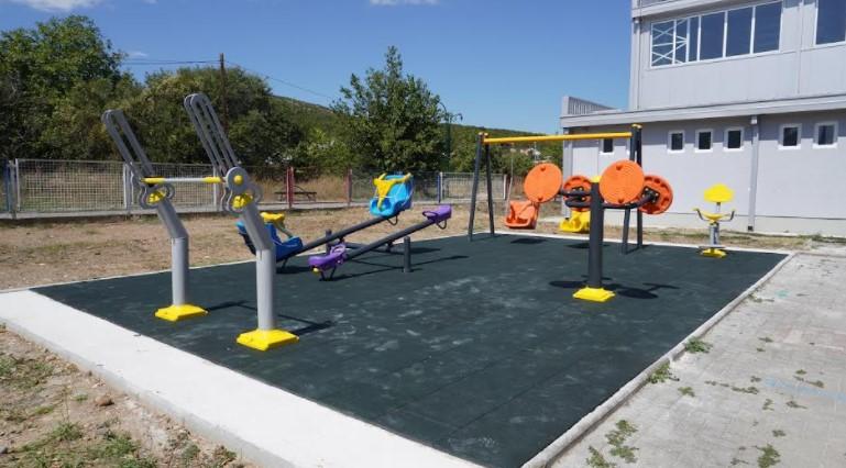 ОКТА ја поддржа изградбата на првото инклузивно игралиште во Општина Дојран