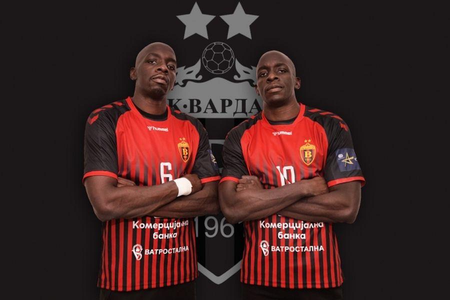 Вардар ги официјализираше француските бекови: Браќата Њокас го облекоа црвено-црниот дрес!