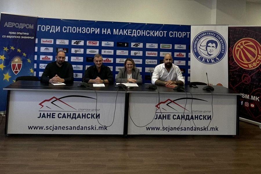 """Осум екипи ќе бидат дел од првиот меморијален турнир """"Драган Василов-Цевка"""""""