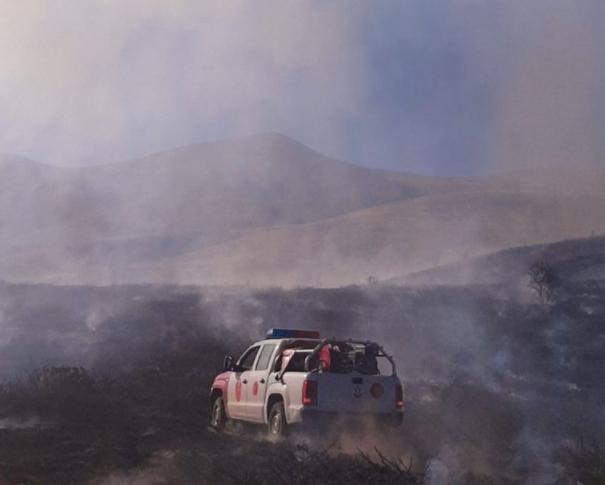 Изгаснат големиот пожар на Попова Шапка