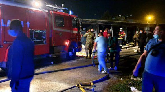 Мицкоски: Јасно е дека изгорената болница немала дозвола, а била пуштена во употреба, истата немала противпожарни инсталации, не очекувам објективна истрага