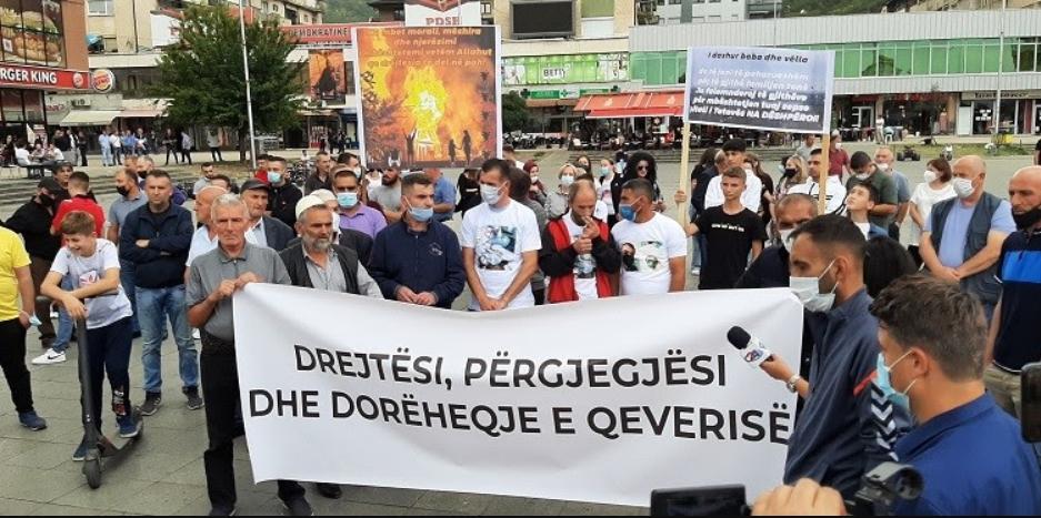 За 30 дена продолжен притворот за уапсените по протестот во Тетово