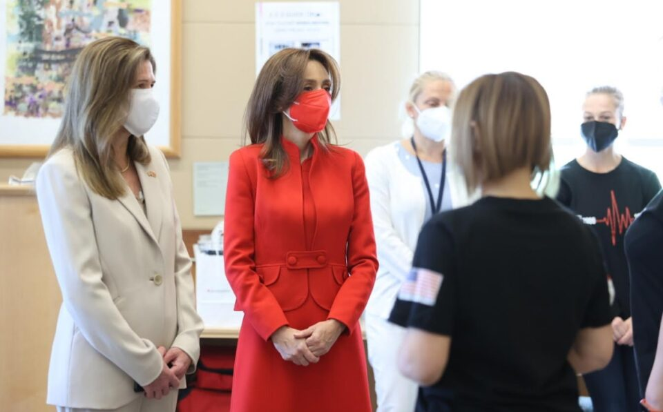 Првата дама на Република Македонија учествуваше во хуманитарна акција