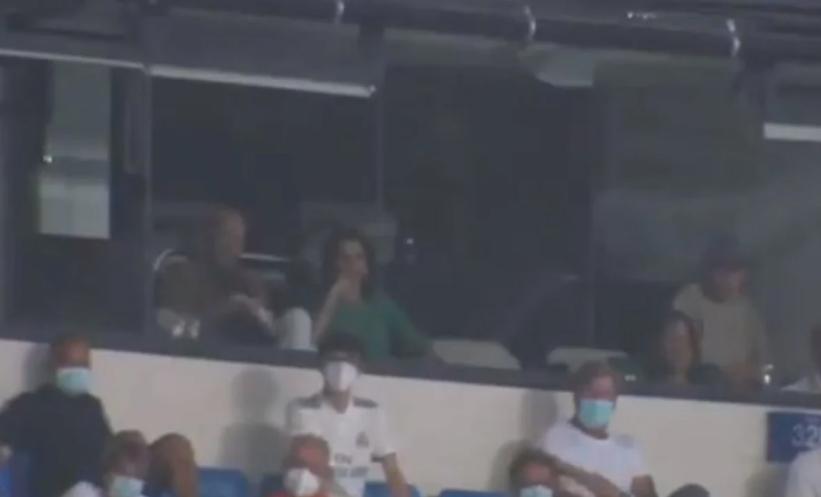 Навивачите на Реал изненадени кога видоа кој синоќа беше во ВИП ложата (ВИДЕО)