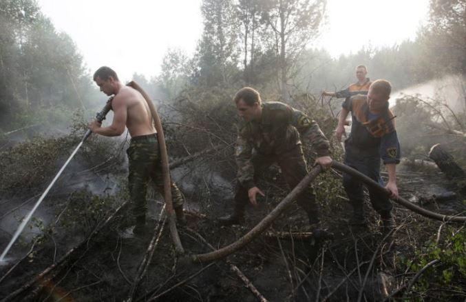 Гринпис: Руските пожари изгореа површина половина од големината на Германија