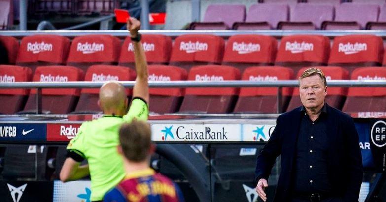 Куман ја дозна казната, нема да ја води Барса на дербито со Атлетико Мадрид