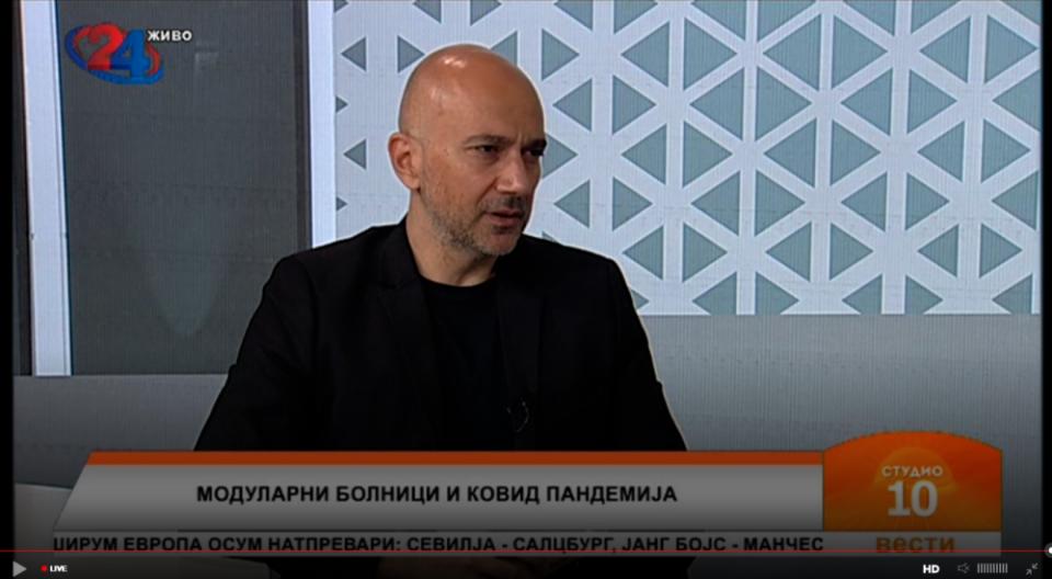 Мехмедовиќ: Додека трае истрагата, најбезбедно и најчесно е модуларните болници привремено да се затворат