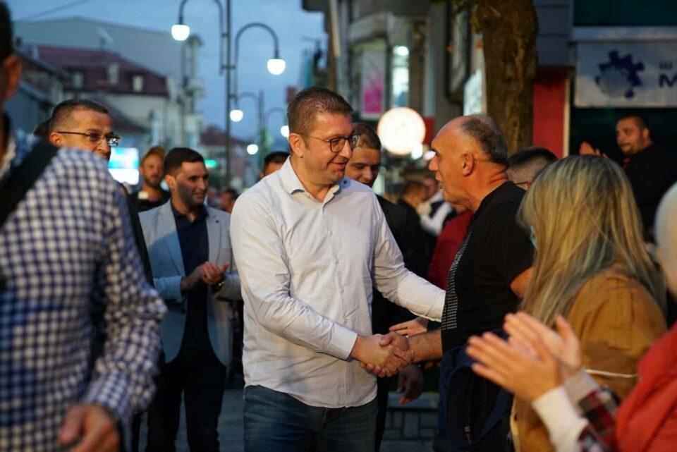 Мицкоски: Градоначалниците на СДСМ се претворија во копија на Заев, на мали зоранчиња, беспоговорно го слушаа и го следеа во неспособноста