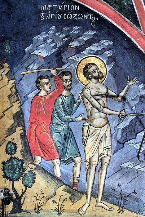 Го измачувале на најсуров начин и го запалиле – денеска се слави светиот маченик чии мошти се покажале како чудотворни