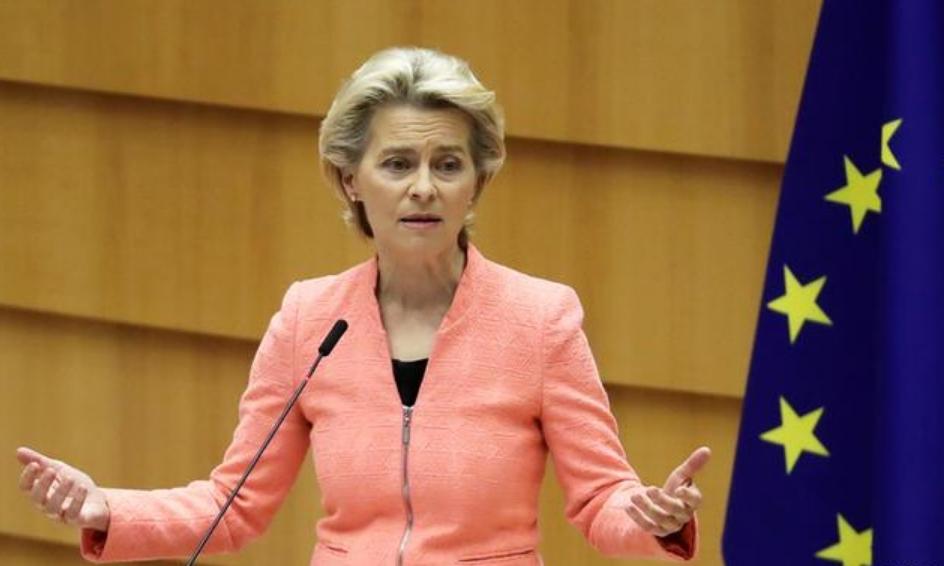 Претседателката на ЕК утре во посета на Македонија