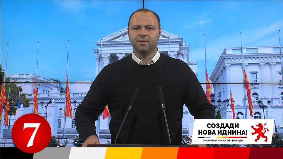 Мисајловски: Заев врши поткуп и кривично дело, на четири дена пред избори гласа финансиска помош за 159 фирми, ДКСК да отвори постапка – За ова се одговара!