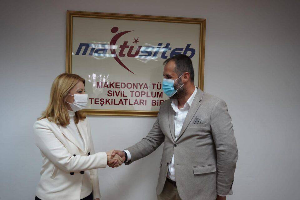 Арсовска: Во соработка со турските граѓански организации ќе создаваме политики и стратегии за развој на градот