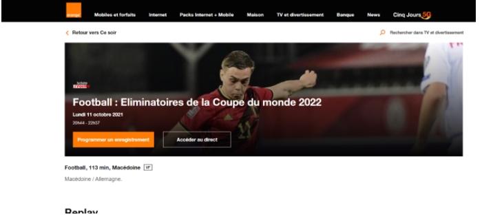 Македонија – Германија со пренос и на францускиот телевизиски канал ЕкипТВ