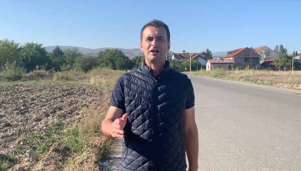 Стојкоски: Населбата Даме Груев ќе добие пешачка зона наместо небезбедна улица без осветлување и тротоари (ВИДЕО)