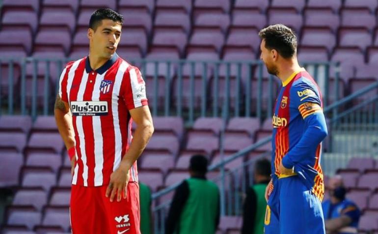 Суарез го повикал Меси во Атлетико