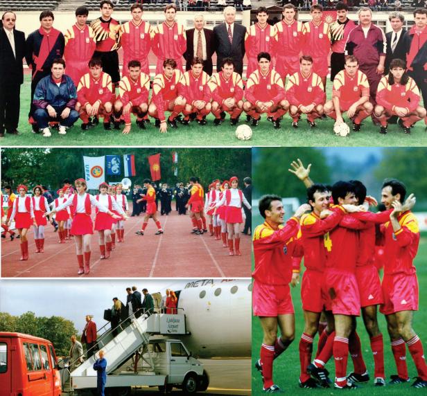 ЌЕ СЕ ПАМЕТИ: 28 години од првиот натпревар на фудбалската репрезентација како независна Македонија, Словенија падна со 4:1 (ВИДЕО)