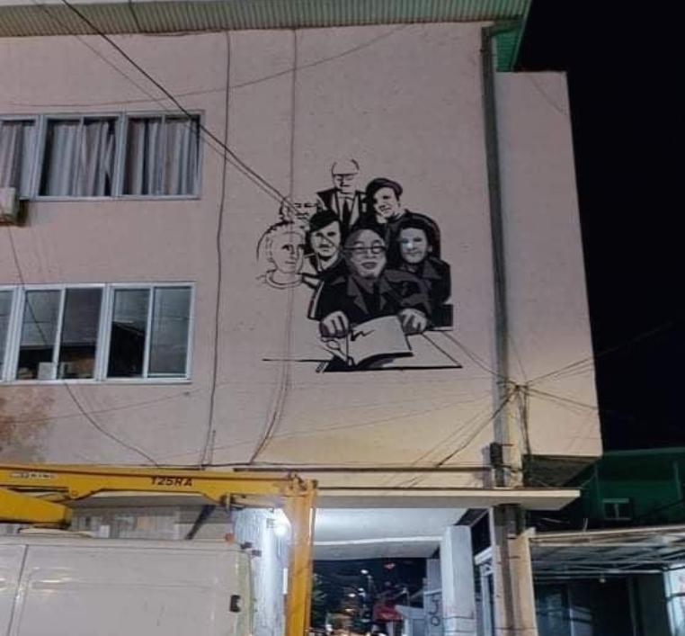 Уметници насликани на мурал во Кавадарци за 30 години независност на државата