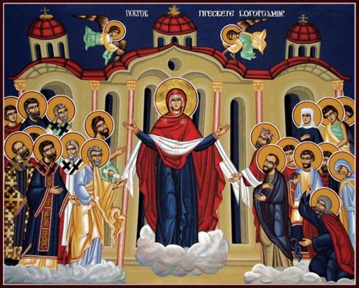 Денеска е голем празник, Покров на Пресвета Богородица