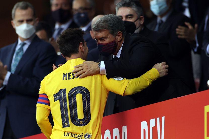 """""""Се надевав дека Меси ќе остане да игра бесплатно во Барселона"""""""