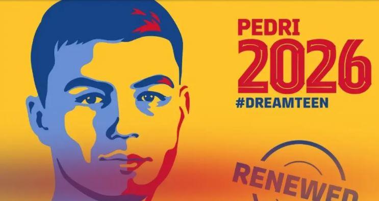 Официјално: Педри потпиша нов договор со Барселона до 2026 година (ВИДЕО)