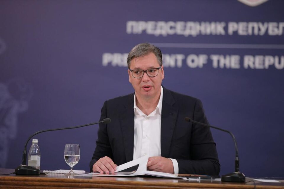 Вучиќ: Ѝ реков на ЕУ да ја заузда Приштина, ако не може, ние ќе го сториме тоа